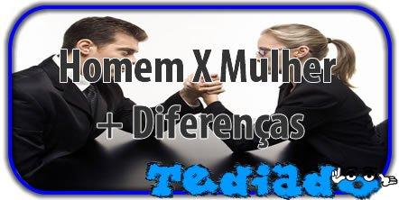 Homem X Mulher + Diferenças 3