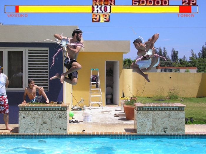 02 Fotos no estilo Street Fighter
