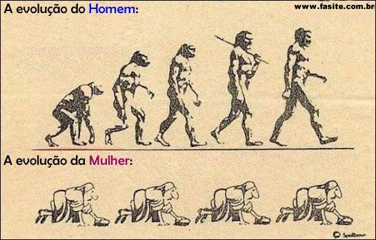 A evolução do Homem e da Mulher 3