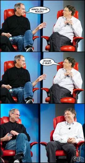 Steve Jobs vs. Bill Gates 3
