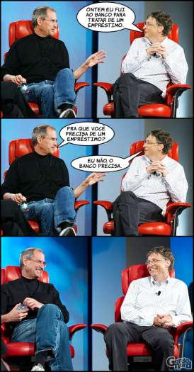 Steve Jobs vs. Bill Gates 4