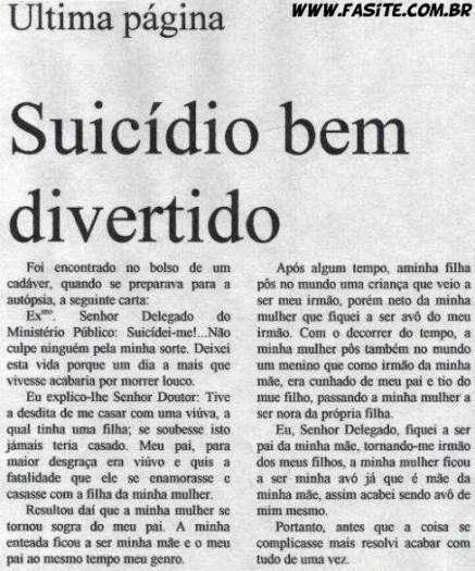 Carta de Suicídio 2