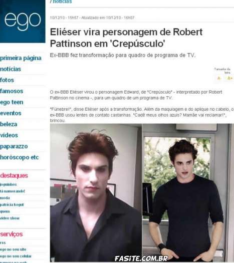 Se o Edward (Crepúsculo) Fosse Brasileiro 3