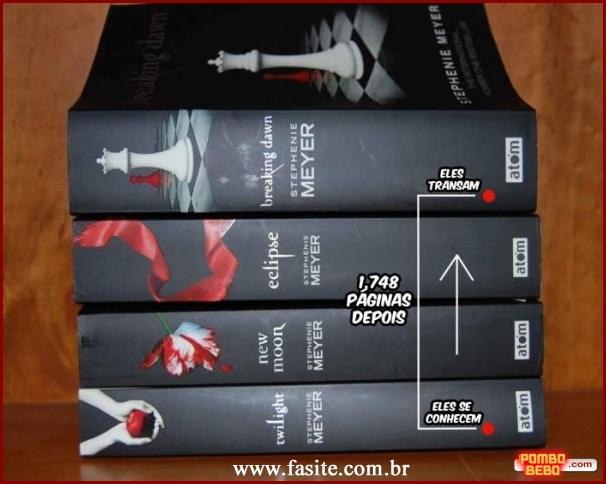Resumo prático dos livros da saga Crepúsculo 1