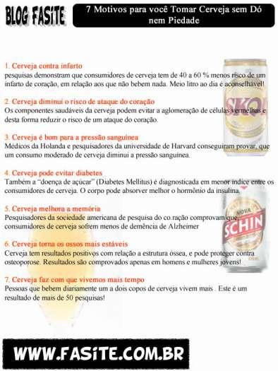 7 Motivos para você Tomar Cerveja sem Dó nem Piedade 4
