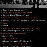 20 Coisas para você fazer antes de morrer