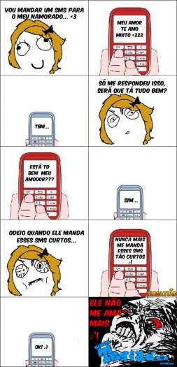 Namoradas e seus SMS's 1