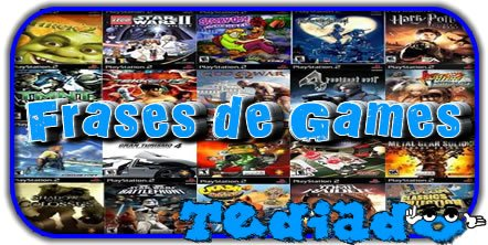 Photo of 36 Frases de Games