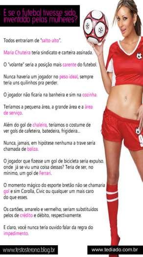 E se o futebol fosse inventado pelas mulheres? 3