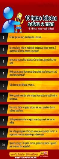10 fatos idiotas sobre o msn 4