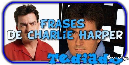 50 frases de Charlie Harper 1