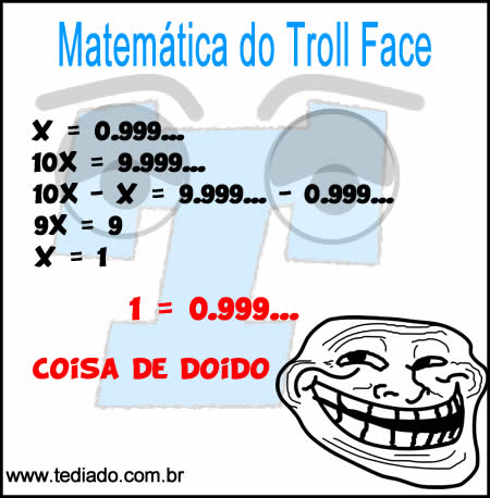 Matemática do Troll Face 2