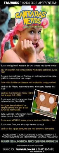 Cantadas Nerds: Especial Pokemon