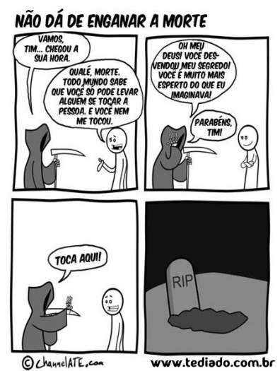 Enganar Morte Blog Tediado