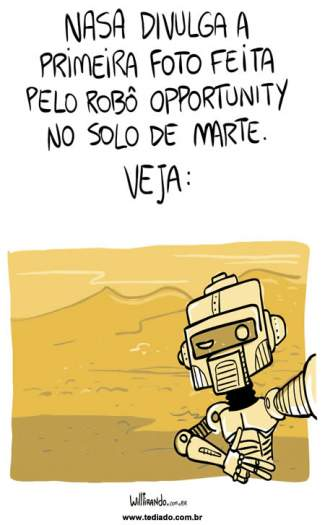 Opportunity em Marte! 1
