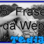 25  Frases da Web