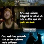 9 cantadas de pottermaniaco