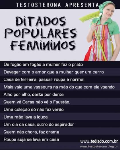 Ditados populares femininos 4
