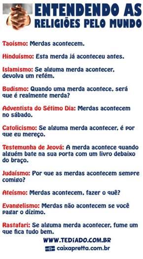 Entendendo as religiões pelo mundo 2