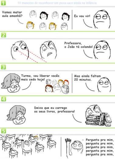 10 maneiras de reconhecer um puxa-saco ainda na infância 2
