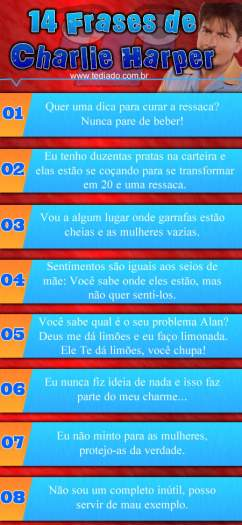 Photo of 14 frases de Charlie Harper