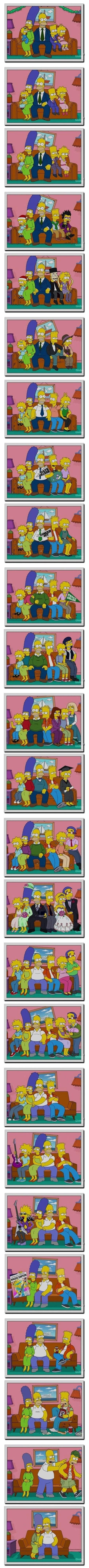 Como seria se os Simpsons envelhecessem 7