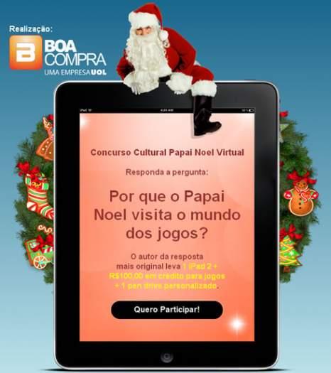 Concurso cultural Papai Noel Virtual 1