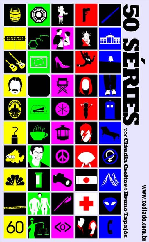 As 50 melhores séries da TV: Quantas você consegue identificar? 2
