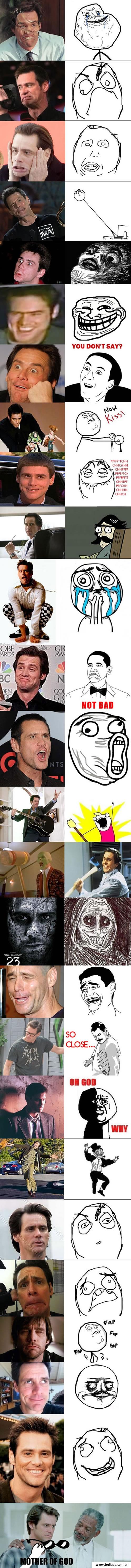 Memes com Jim Carrey 1