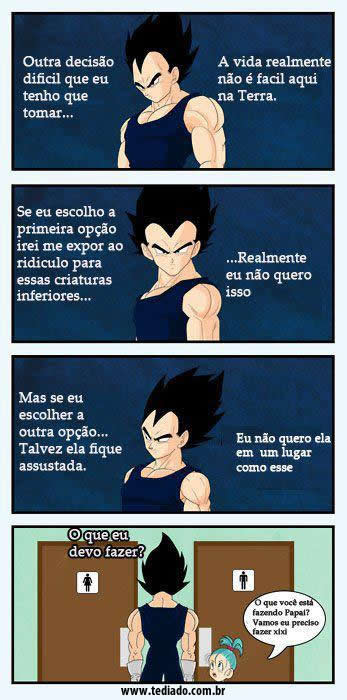 Photo of A cruel duvida de Vegeta