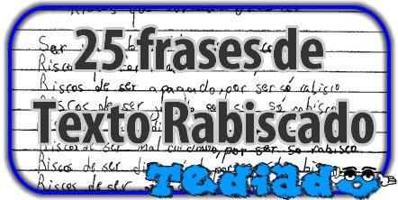 25 frases de Texto Rabiscado 2