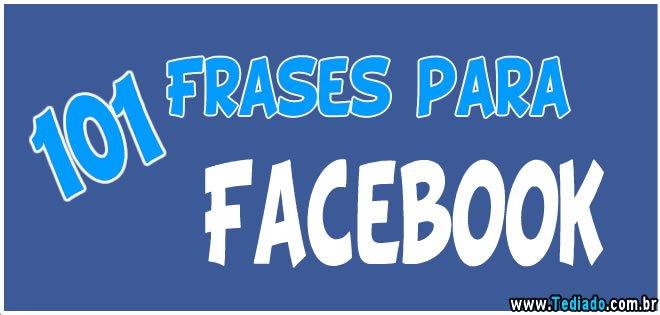 101 Frases Para Facebook Blog Tediado