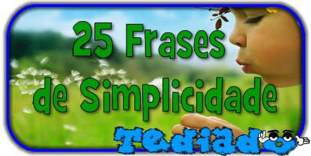 Photo of 25 Frases de Simplicidade