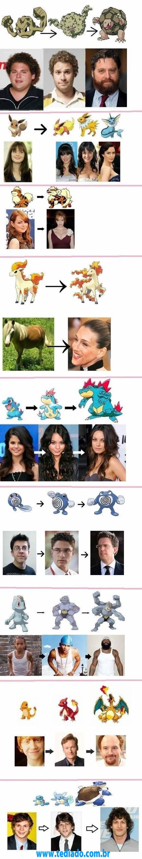 Evolução das Celebridades 4