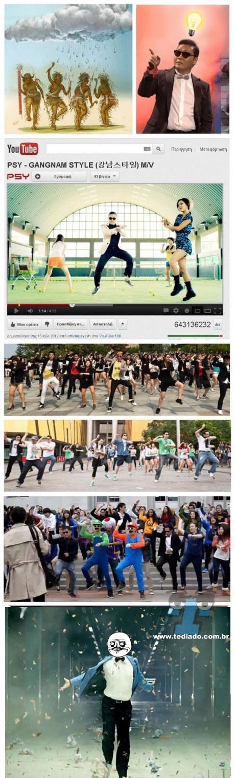 Como surgiu a ideia da musica Gangnam Style 4