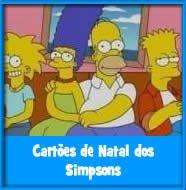 Cartões de Natal dos Simpsons