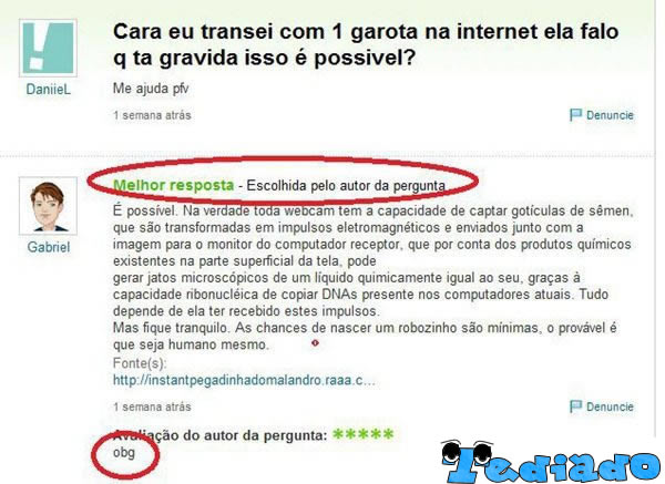Perolas do Yahoo