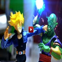 Dragon Ball Z Stop Motion – Piccolo VS Trunks - dragon ball1