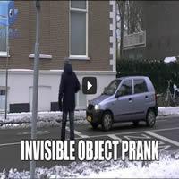 Pegadinha do objeto invisível 6