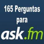 165 Perguntas para Ask.fm