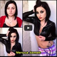 Estrelas pornôs antes e depois da maquiagem 1
