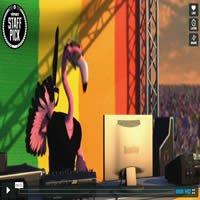 Animação - Flamingo Pride 3