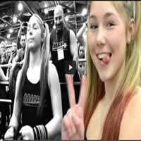 Garota de 13 anos levantar 110kg 1