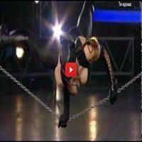 Mulher gata no Ukraine's Got Talent 8