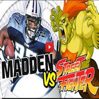 Street Fighter vs Madden Football - street fighter vs madden football - Street Fighter vs Madden Football