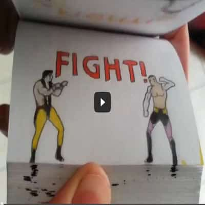Mortal Kombat Flipbook - mortal