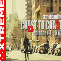 Rolê de skate pelas ruas de New York 1