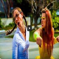 Épica luta de duas mulheres 1