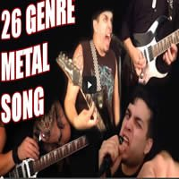 26 gêneros do metal em uma música 1