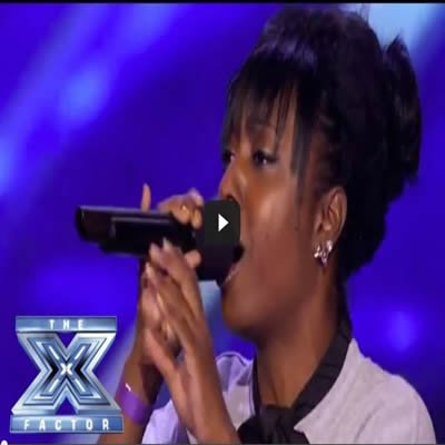 A reencarnação de Whitney Houston em uma apresentação no The X Factor usa 3